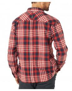 Koszula Wrangler ATG LS RECYCLE FLANNEL SHIRT WA5N Dark Red