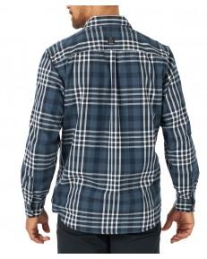 Koszula Wrangler ATG LS RECYCLE FLANNEL SHIRT WA5N Midnight Navy