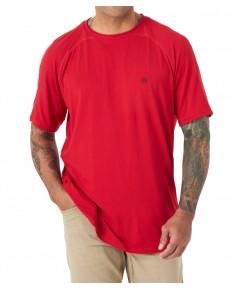 T-shirt Wrangler ATG SS PERFORMANCE WA7B Haute Red