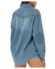 Koszula Wrangler X BILLABONG HEADED WAST SHIRT WC5AB Blue Surf