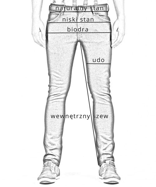 Modish Tabela rozmiarów | Lee Wrangler Vans | JeansOriginal TA55